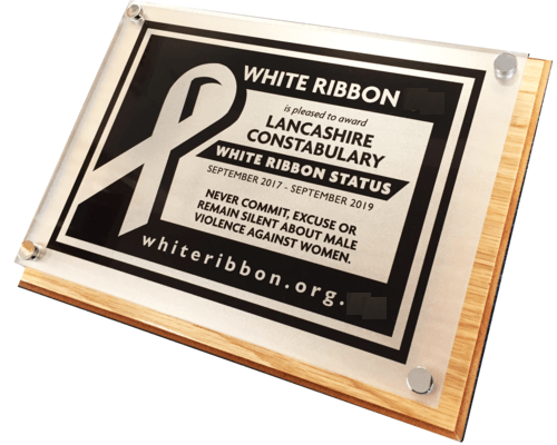 White Ribbon South Africa - White Ribbon Status Award for National government and local Government and Public Sector Organisations